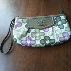 Handbags - Coach wristlet (not sure if it's real)